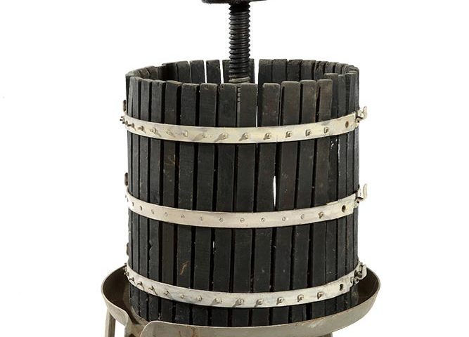 Torchio manuale verticale