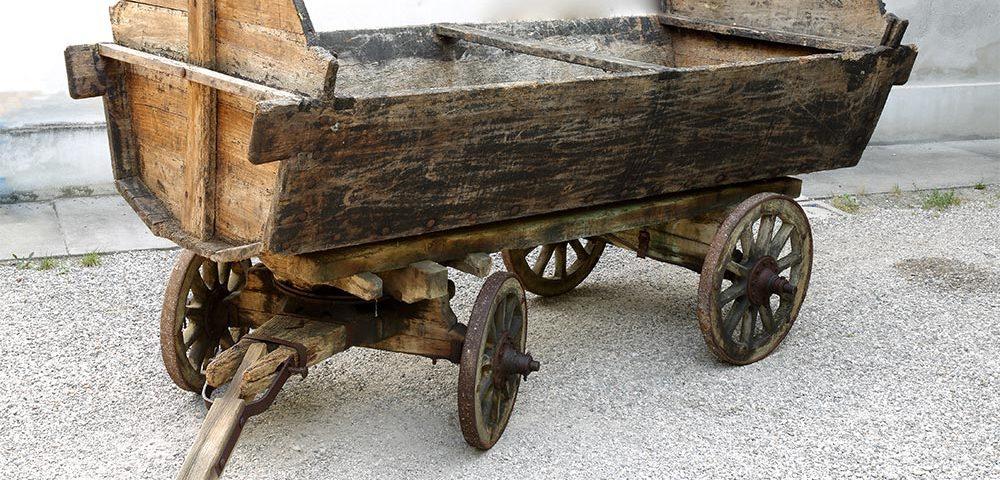 Carro trasporto dell'uva